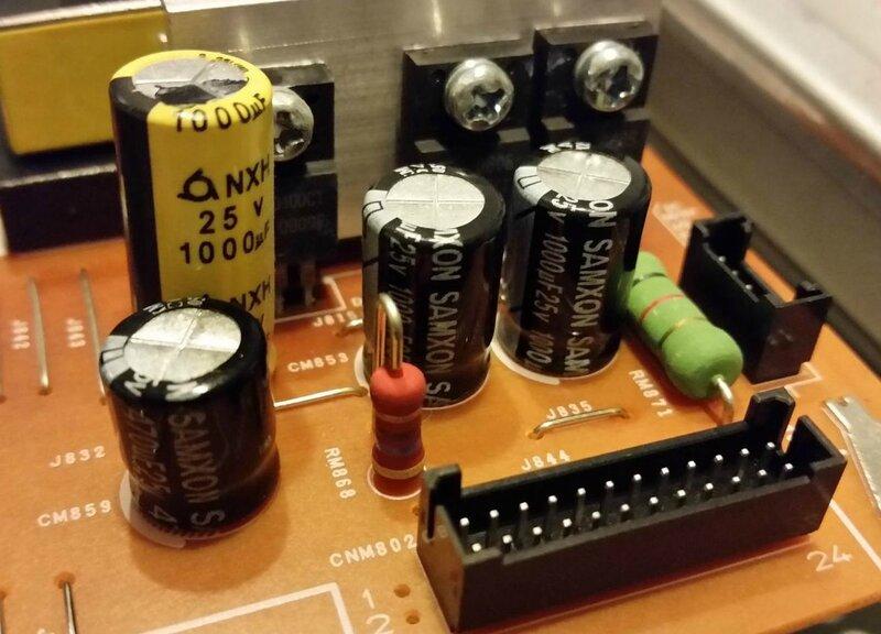nouveaux condensateurs
