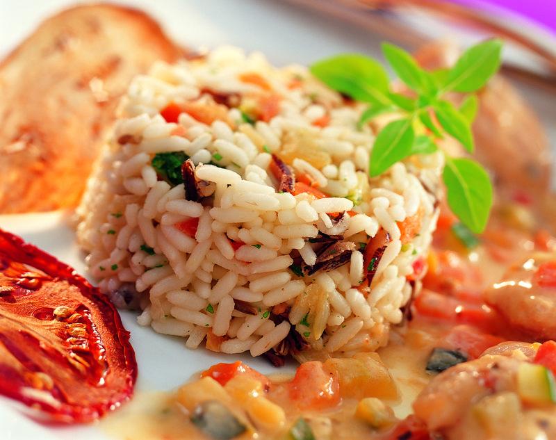 Bien-aimé Timbale camarguaise au riz sauvage - Half-Time, le blog ! AD34