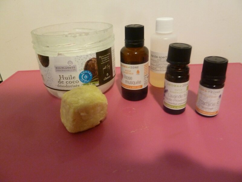 chantilly de karite ingredients