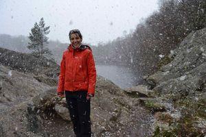 Claire sous la neige