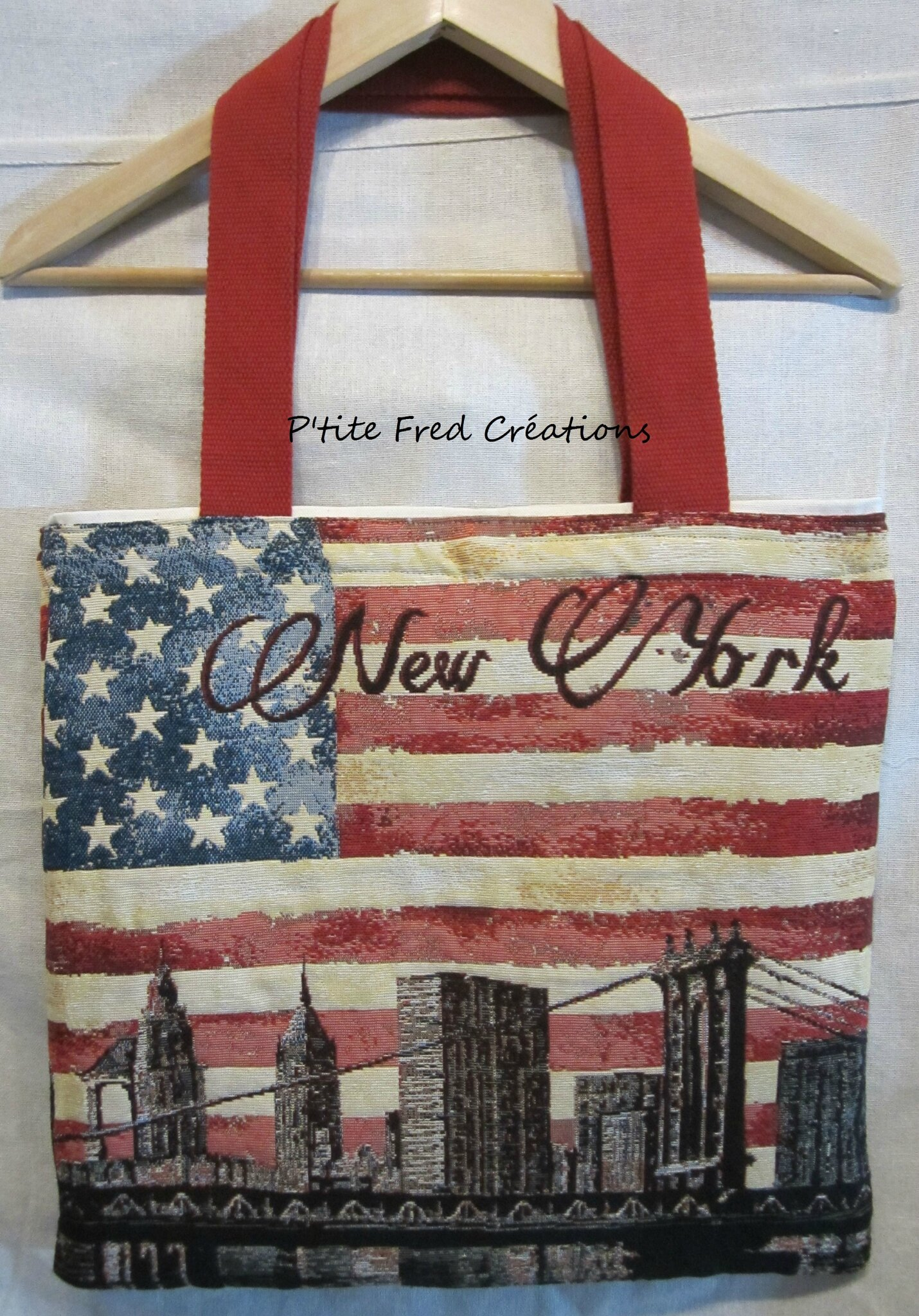 Sac New York doublé