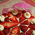 Recette gâteau aux fraises et mascarpone
