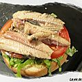 Hamburgers aux sardines...