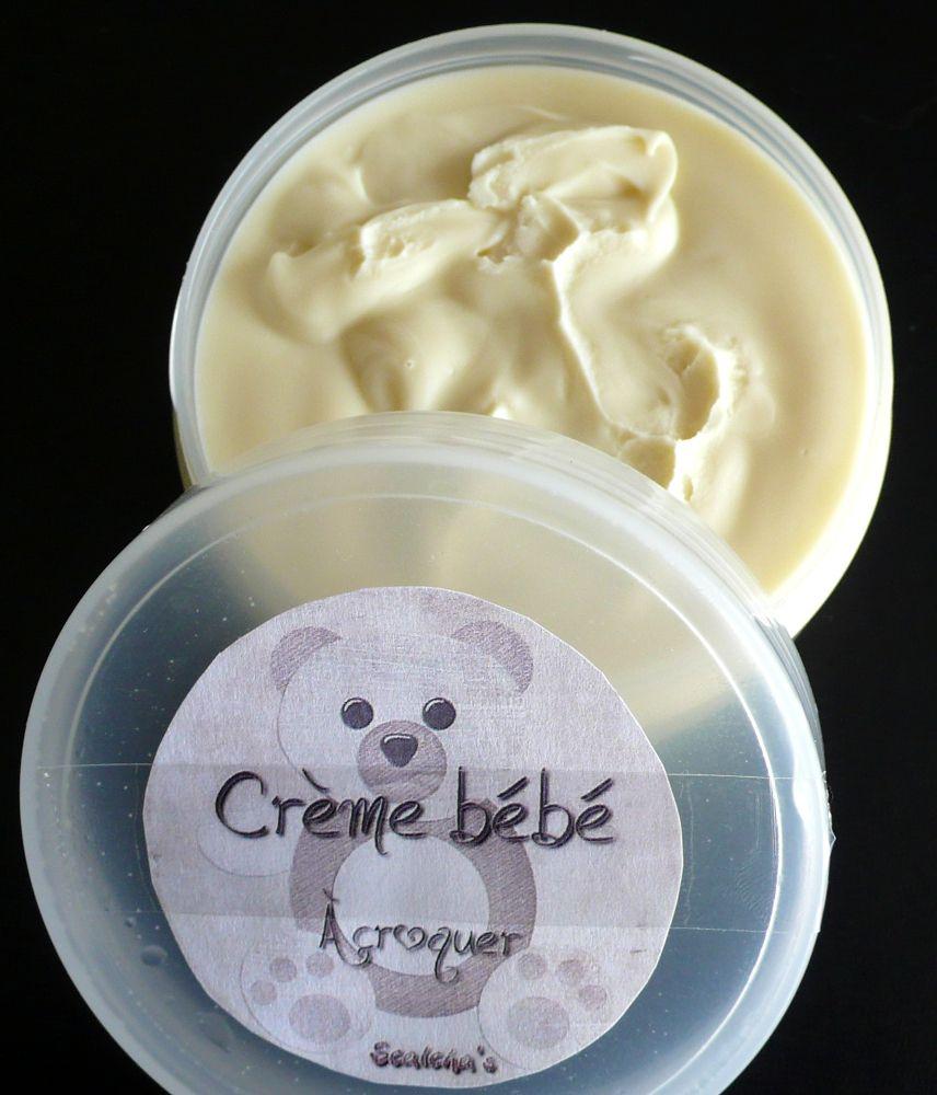 Crème bébé à croquer