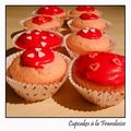 Cupcakes  la Framboise