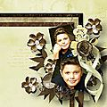 Sophisticated - Template by Ilonkas Scrapbook Designs