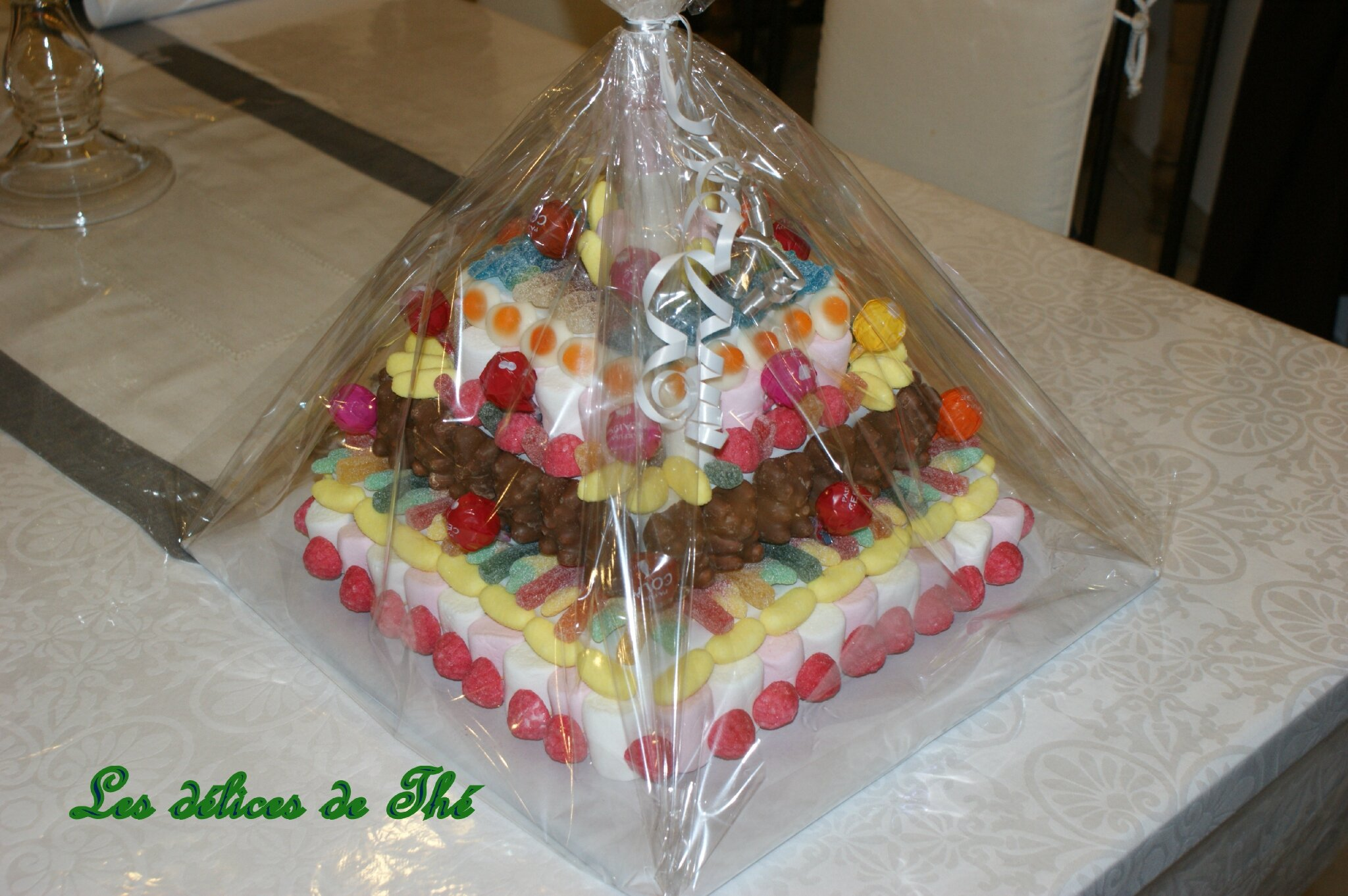 Faire un support gateau bonbon