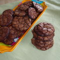 The outrageous chocolate cookies... scandaleusement délicieux!!!
