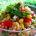 Salade de Quinoa SANS GLUTEN