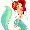 Sea six and sun : le dressing d'une petite sirène (petit budget)