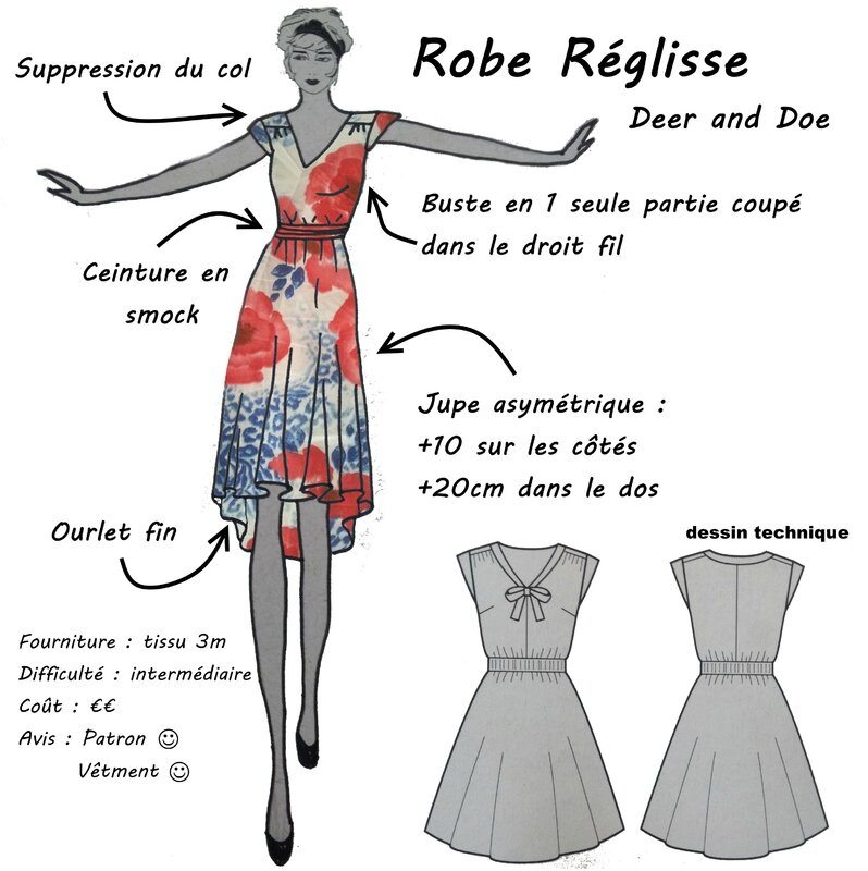 Deer and Doe - Robe Réglisse