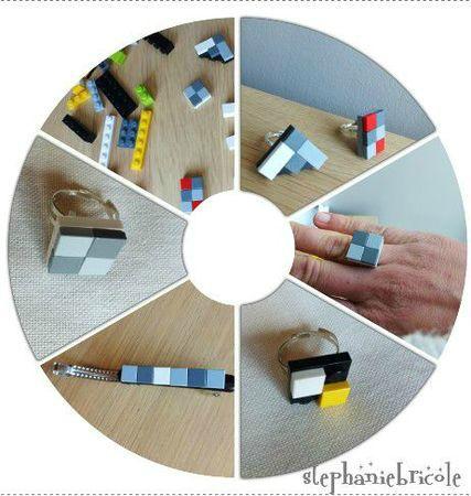 Diy bijou lego photo de tutos diy avec les enfants - Fabriquer porte bijoux facile ...