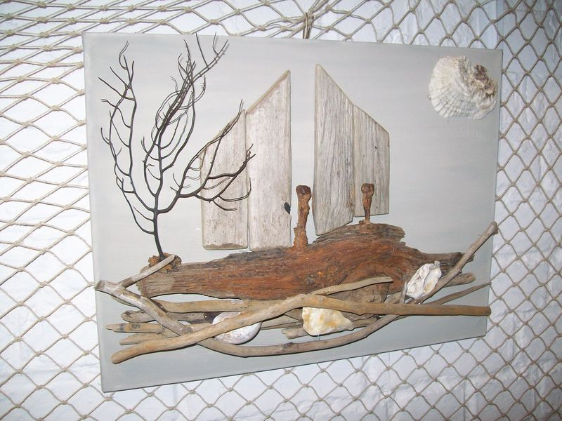Branche bois flotte decoration maison design for Decoration de bois flotte