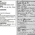 Pierre gilly mort pour la france le 26 septembre 1915.
