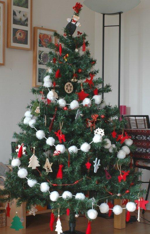 Sapin de Noel guirlande pour sapin de noel : Sapin de Noël pour KKVJ - PASSION ... GOURMANDISE !
