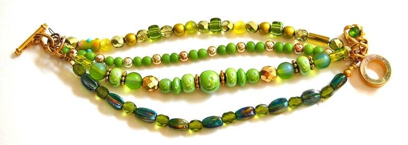 Bracelet vert