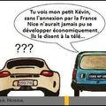 Comparaison de Monaco avec Nice