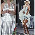 La robe de marilyn dans 7 ans de réflexion