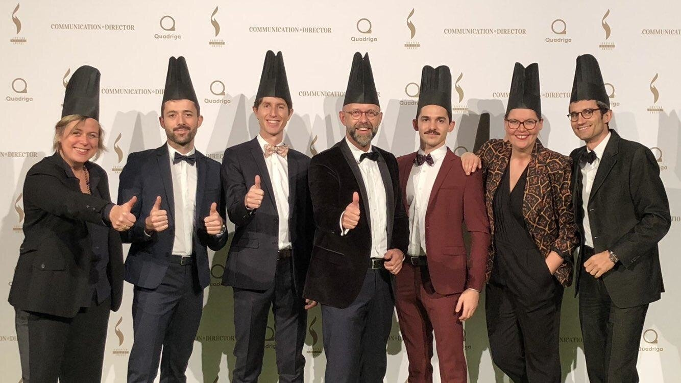 ELIOR GROUP AUX EUROPEAN EXCELLENCE AWARDS 2017