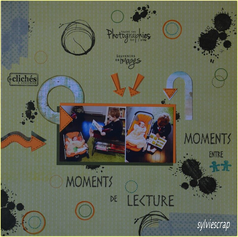 Moments de lecture moment entre garçons