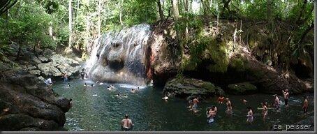 Aguas Calientes - Ein toller warmer Wasserfall