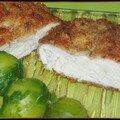 Escalopes de poulet panées au parmesan