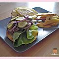 Burger home-made