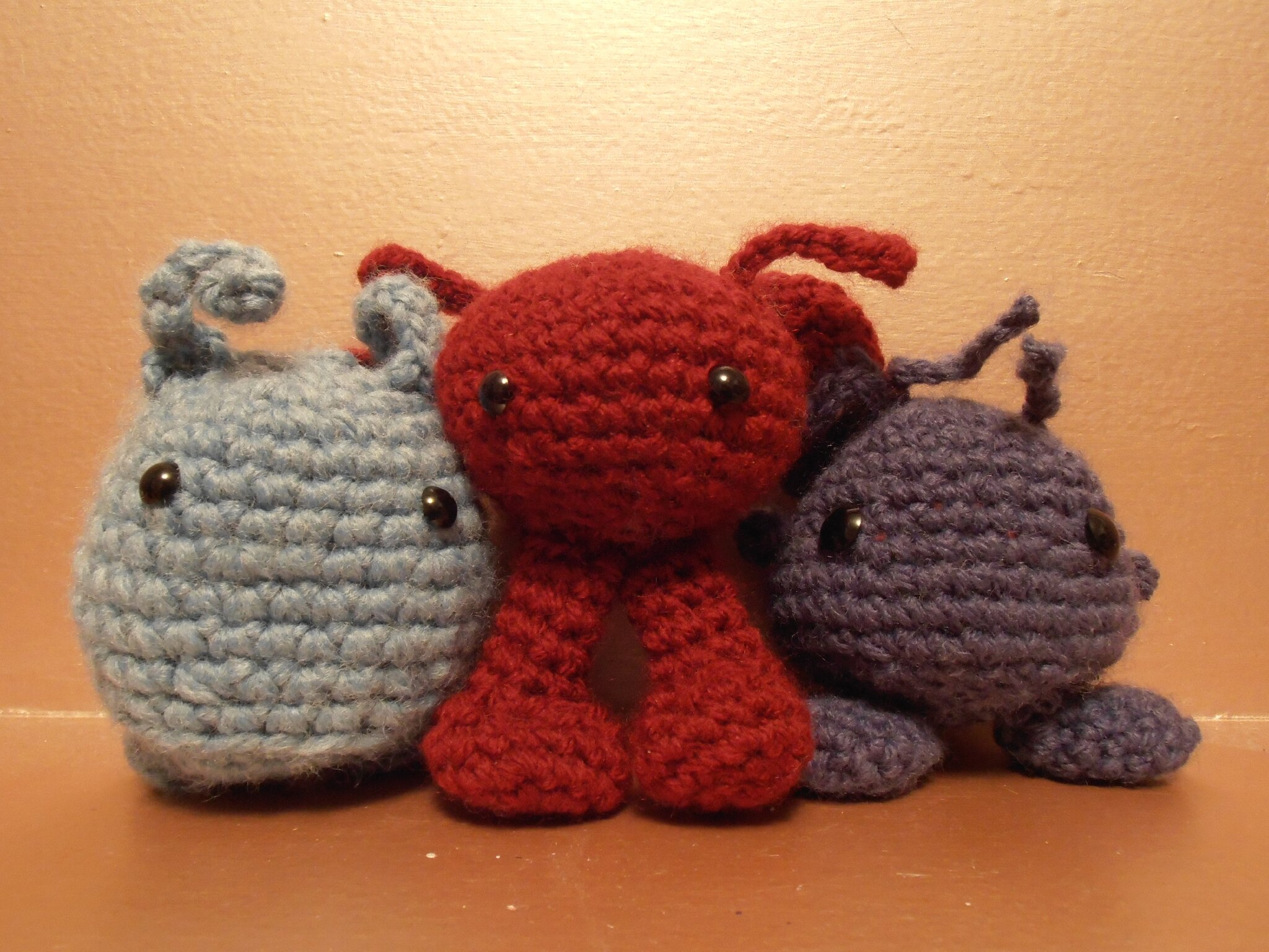 Amigurumi Au Crochet Modele Gratuit : Crochet : Modele gratuit dAmigurumi, Purploids, and ...