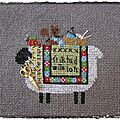 Journée mondiale du tricot stitching sheep