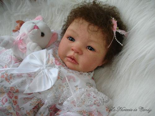 Souvent petite fille reborn cheveux bouclés - Photo de 0.12 Eden - Bebe  YF28