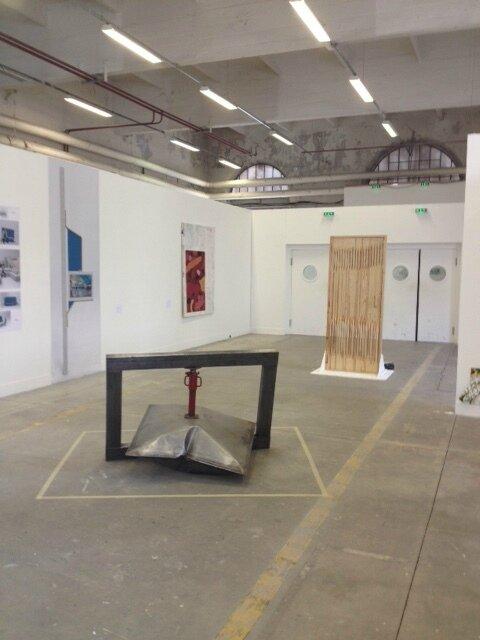coussin métal biennale 2017