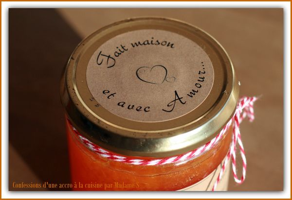 Confiture potiron orange 003