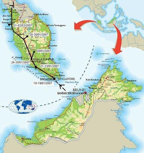 12Singapour et Malaisie : du 18/01/2007 au 02/02/2007