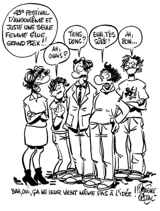 Le festival de BD d'Angoulême accusé de sexisme après une sélection 100 % masculine