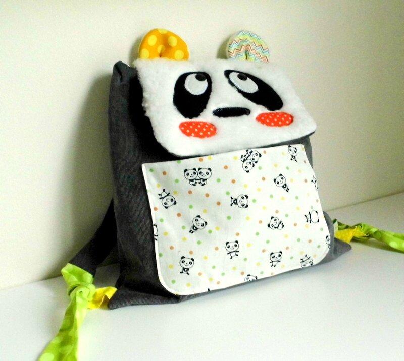 Le sac à dos Panda de Paul