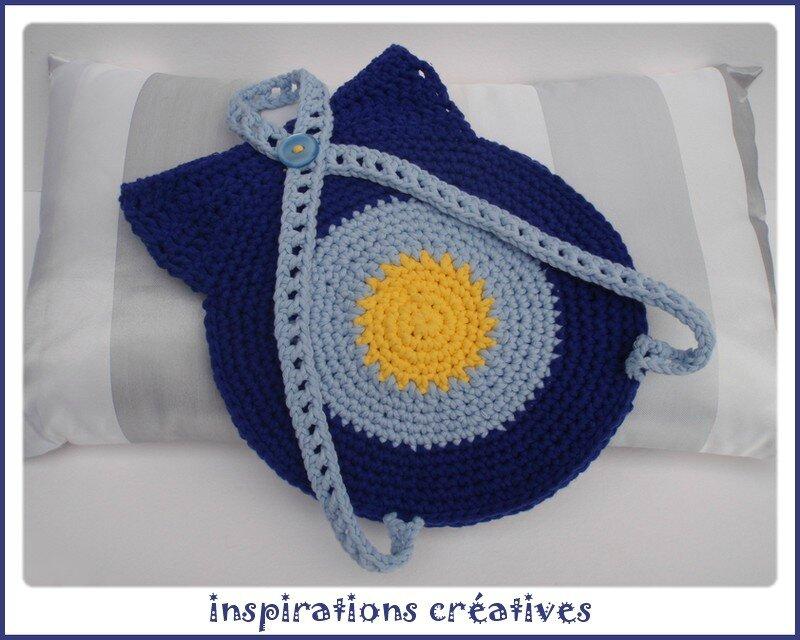 Fabuleux Tuto Sac à dos Hibou au Crochet - Inspirations Créatives YV91