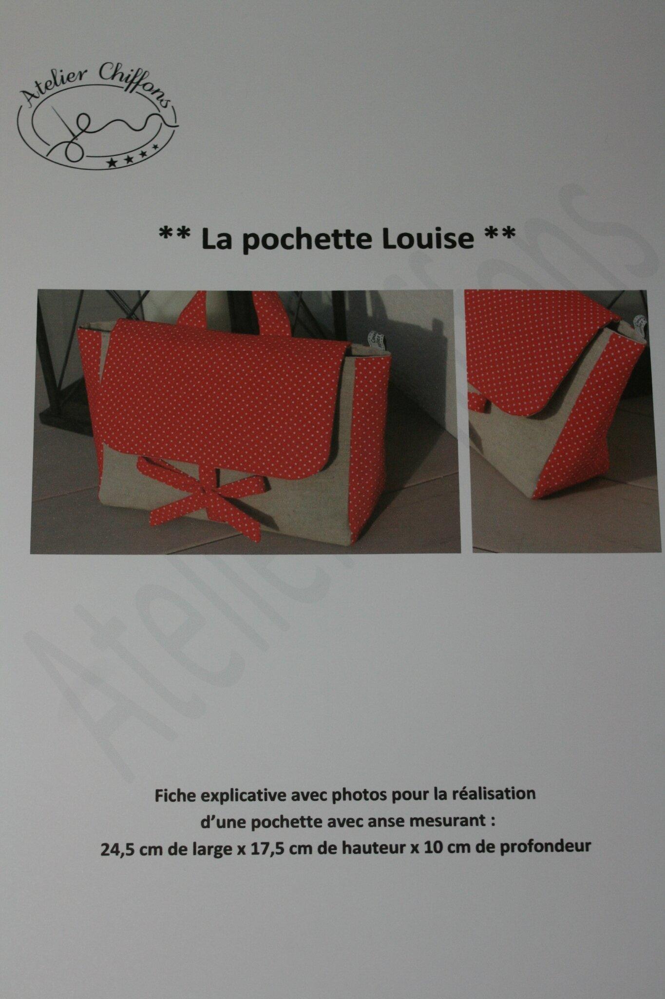 Fiche couture : pochette Louise