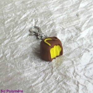 Porte-clé chocolat citron (4)