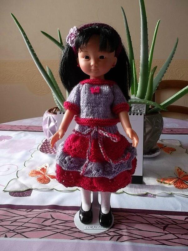 Coraline & sa nouvelle tenue ( Céline)