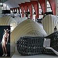 Futurotextiles exposition - module itinérant