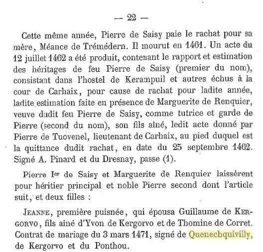 Généalogie de Saisie de Kerampuil_2