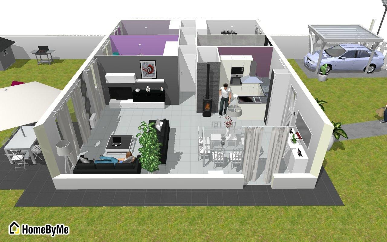 impatient voici la maison en 3d notre maison phenix dans le 31. Black Bedroom Furniture Sets. Home Design Ideas