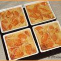 Minis clafoutis abricots - amande amère