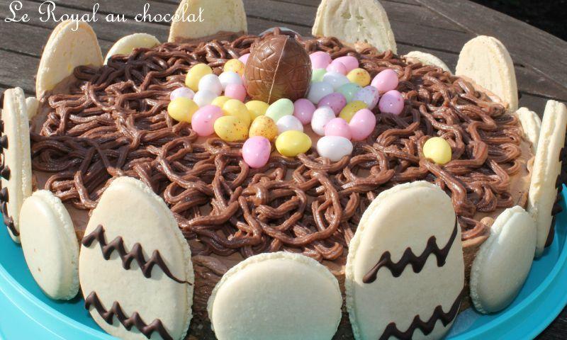 Gateau pascal au chocolat
