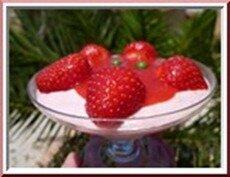 0116s - mousse de fraises