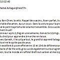 Ibsen- de la DULLAGUE le 19-08-2013 à 3 mois...