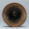 A small Jian 'Hare's Fur' bowl, Southern Song dynasty (1127–1279) (2)