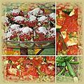 Courgettes farçies végétariennes