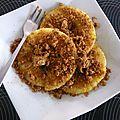 crumble d'ananas frais aux spéculos