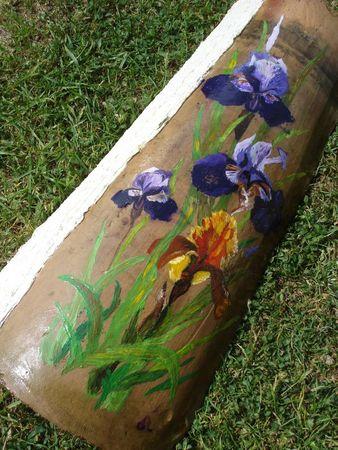 Tuile iris (2)